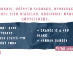 30 – o pukaniu, różnych słowach, wywiadach i bardzo złym diabełku. Gościnnie: Kamila Goryszewska.