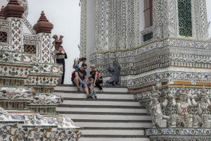turyści w bangkoku